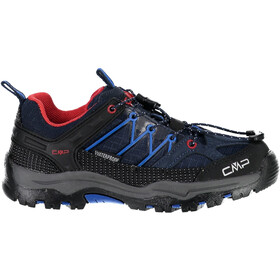 CMP Campagnolo Rigel WP Low Trekking Shoes Kids, black blue-royal